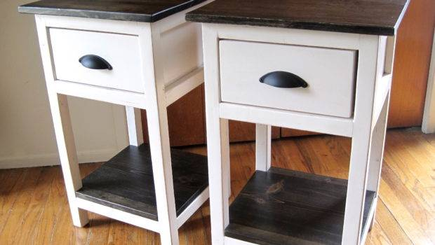 Furniture Small Bedside Tables Cheap Modern Home