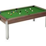 Fusion Pool Table Dark Walnut Green Cloth