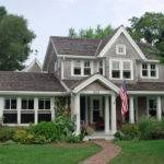 Gable Window Ideas Exterior Traditional Covered