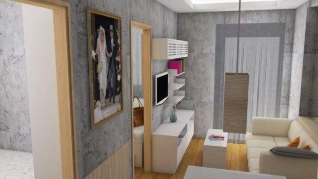 Gambar Desain Interior Apartemen Mungil Terbaru