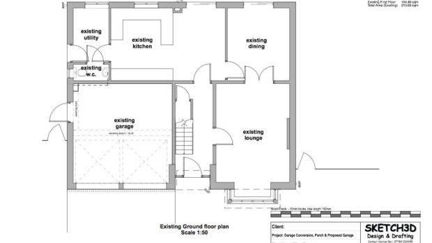 Garage Conversion Plan