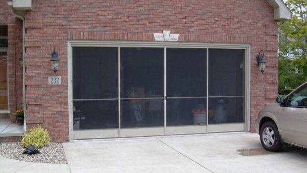 Garage Screen Door Patio Enclosure Installation