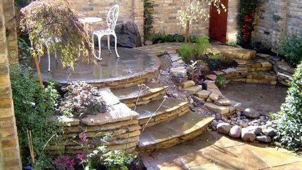 Garden Interior Design Home Courtyard
