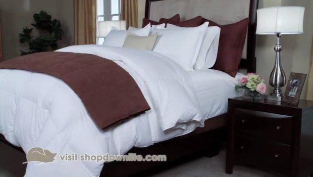 Get Hotel Bed Look Home Downlite Youtube