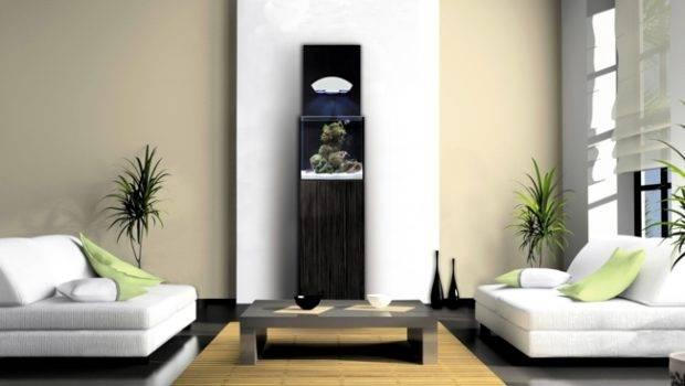 Get Sea Into Your Living Room Nano Aquarium Interior Design