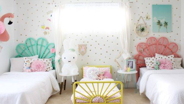 Girls Bedroom Ideas Shared Tour