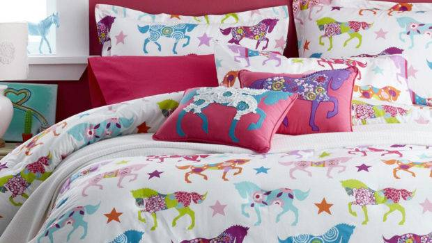 Girls Horse Bedding Cowgirl Theme Bedroom Pony