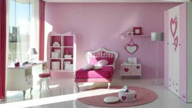 Girls Room Decor One Total Modern Casual Pink Teenage