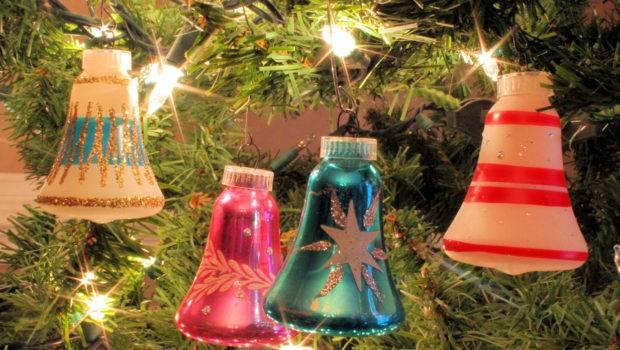 Glass Bell Shape Mid Century Modern Christmas Ornaments Austria Ebay