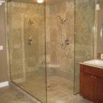 Glass Frameless Panels Shower Doors Portland
