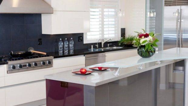 Glass Kitchen Countertops Designs Choose Layouts