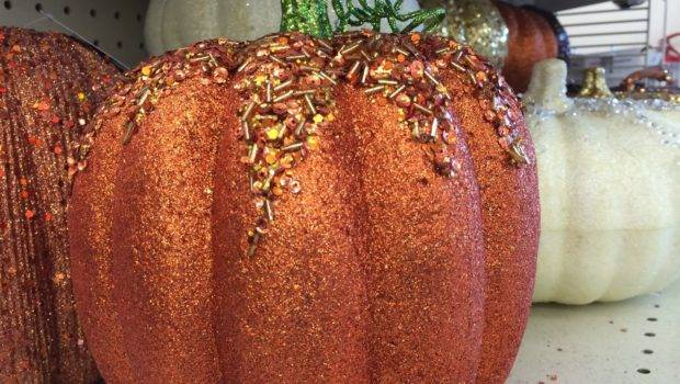 Glitter Pumpkins Indoor Fall Decoration Ideas Interesting Things