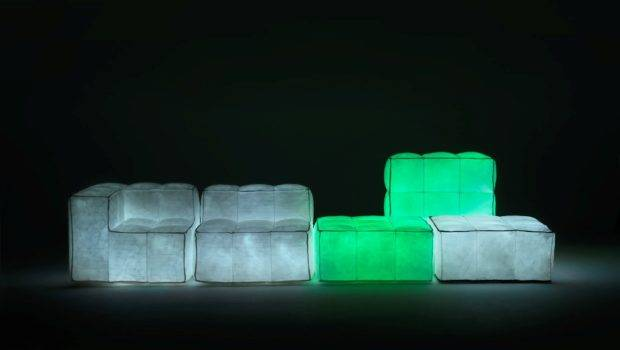 Glowing Dark Furniture Via Lattea Meritalia Digsdigs