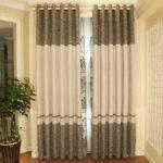 Good Quality Blended Linen Cotton Designer Curtains
