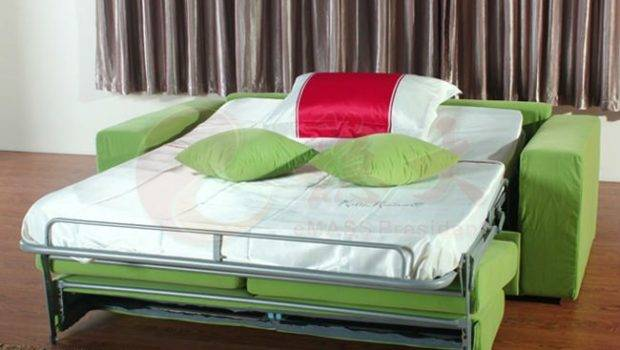 Good Quality Sofa Bed Green Color Buy Cum