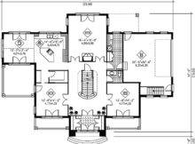 Grand Staircase Architectural Designs House