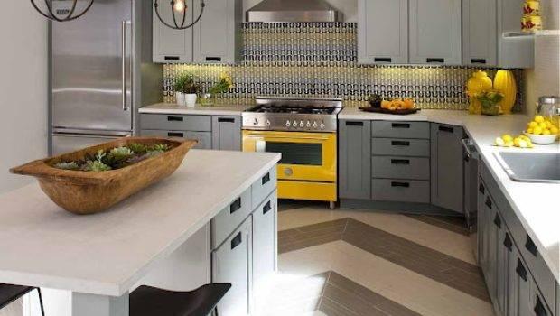 Granite Gurus Grey Yellow Kitchens