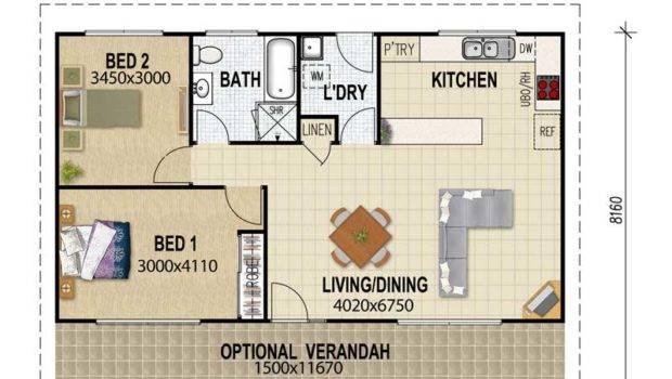 Granny Flat Plans Pinterest Small Floor