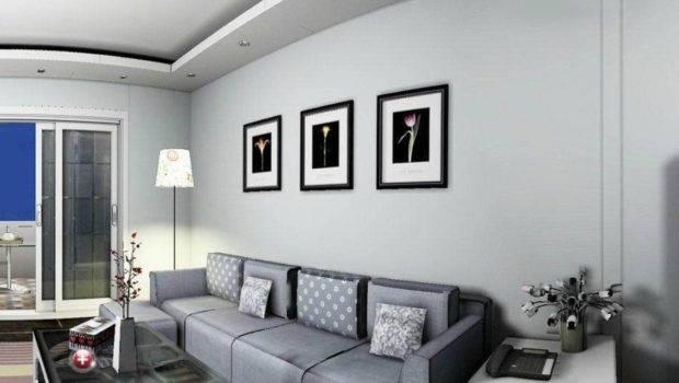Gray Living Room Wall Art House