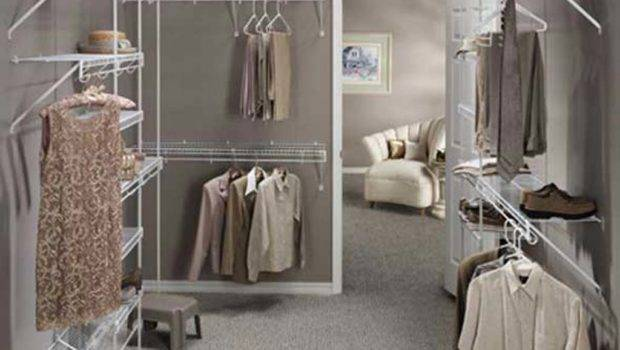 Gray Wall Paint Color Walk Closet Design Kitchentoday