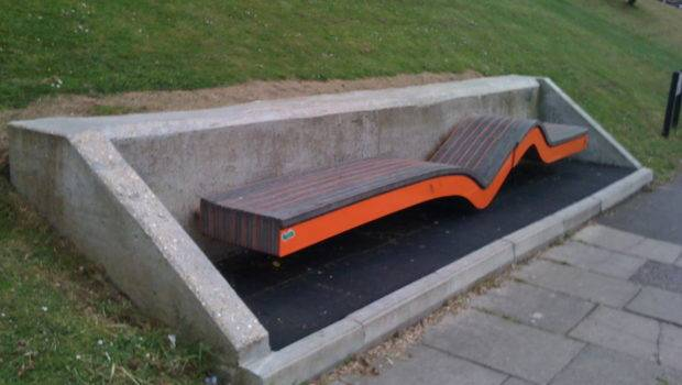 Great Benches Britain Brighton Urban Bench