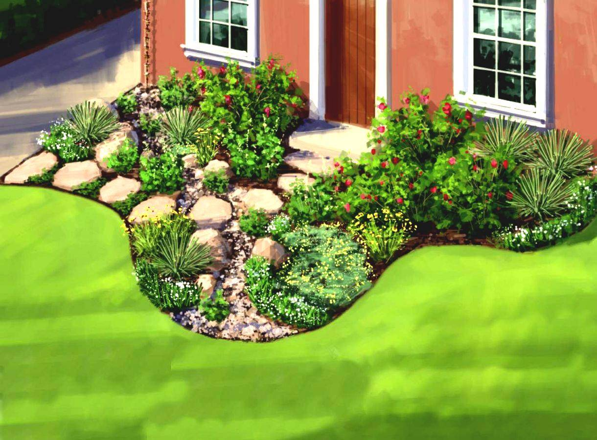 Great Simple Garden Ideas Average Home Homelk - Cute Homes ...