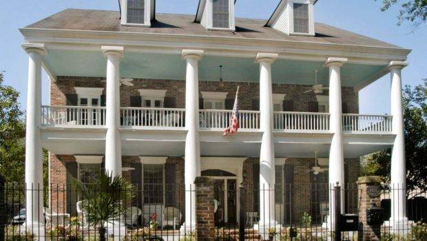 Greek Revival Home Commonplace South Homes