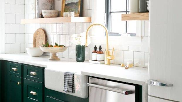 Green Kitchen Cabinet Inspiration Bless House