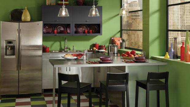 Green Painted Room Design Inspiration Project Idea Behr