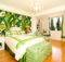 Green Tropical Palm Beach Bedroom Master Design Ideas