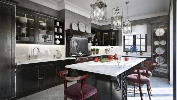 Grey Modern Luxe Kitchen Why Must Absolutely Paint Your Walls Gray