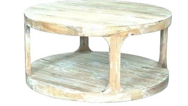 Grey Round Coffee Table Harmonious