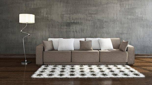 Grey Wall Interior Decoration Rendering