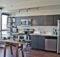 Grey Walls Kitchen Your Modern Look Wooden Floor Wide