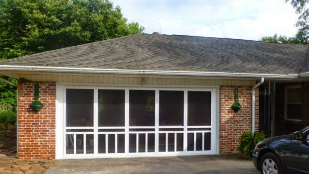 Growing Grace Screened Garage Door Enclosure