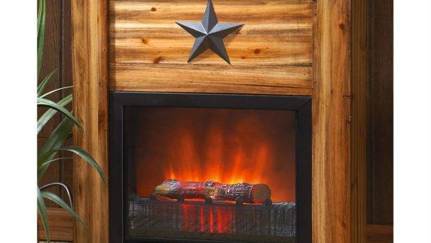 Guide Gear Rustic Concealment Electric Fireplace