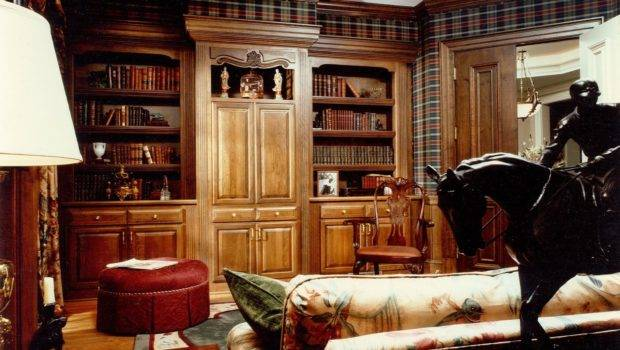Hand Made Built Cabinetry Home Library Office Cabinets