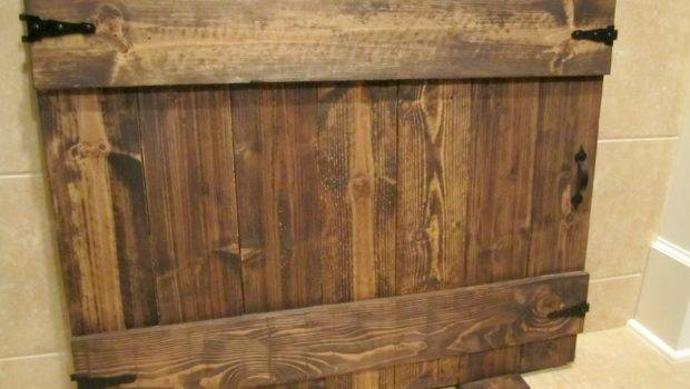 Handmade Fireplace Cover Diy Faux Gate