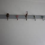 Hang Coat Rack Brass Hook Toronto Hangers Old Door Decorative