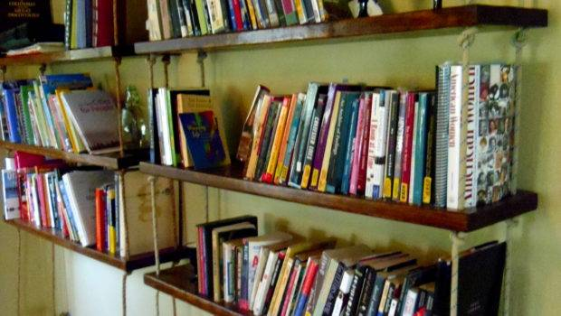 Hanging Bookshelves Runcible Spoon