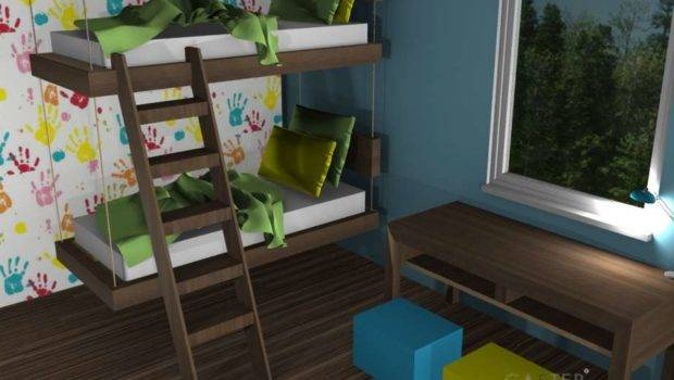 Hanging Bunk Bed Caster Beds