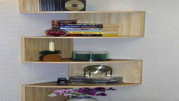 Hanging Corner Shelf Design Stroovi