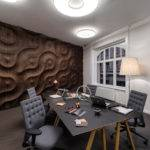 Has Launched Collection Handcrafted Wooden Wall Coverings