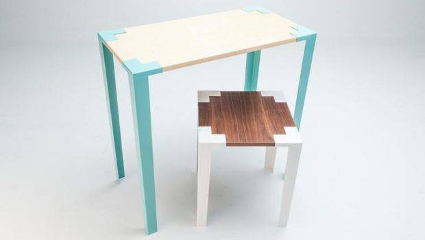 Hate Assembling Furniture These Ingenious Tables Snap Together