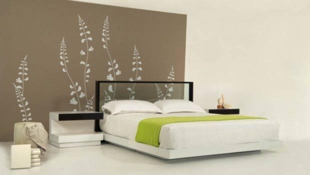 Headboard Contemporary Bed Stylish Bedroom Decoration Ideas