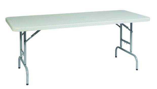 Height Adjustable Resin Multi Purpose Table Beyond Stores