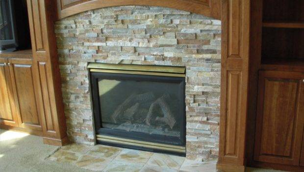 Here Home Portfolio Fireplaces Gas Fireplace Stone Surround