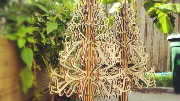 Heritage Trees Wooden Christmas Tree Alternatives