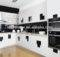 High Gloss Lacquer Kitchen Cabinets Good Price Customized