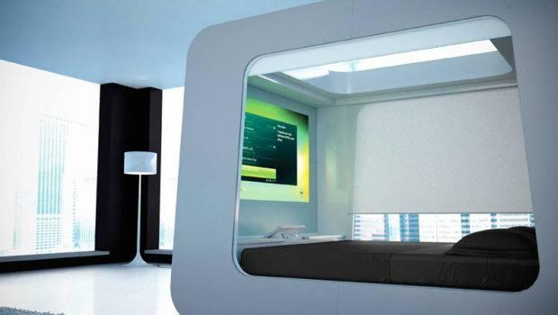 High Tech Bedroom Interior Design Ideas